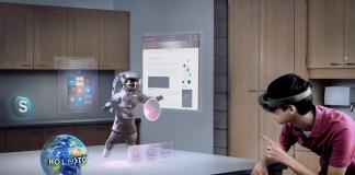 Die HoloLens erlaubt interaktive 3D-Projektionen in der direkten Umgebung