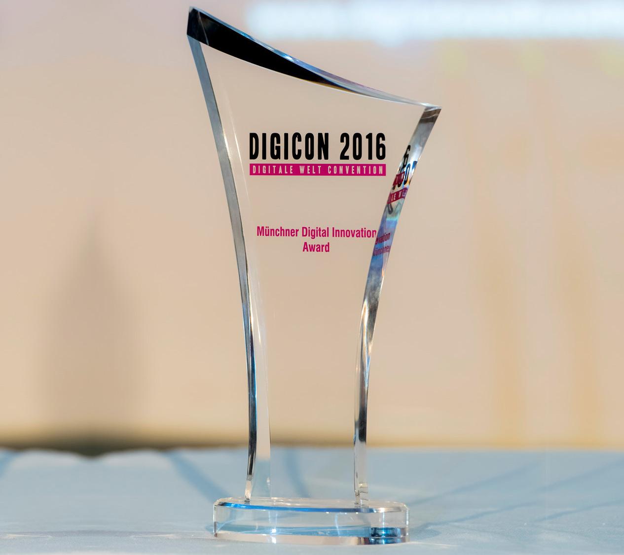 Münchner Digital Innovation Award 2016