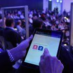Münchner Digital Innovation Award 2017 - die Zuschauer stimmen während der spannenden Pitch-Battles für ihre Favoriten ab.