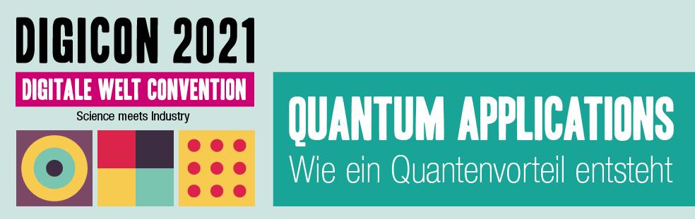 "Digicon 17.11.2021 ""Quantum Applications"" Banner Ticketing"